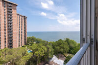 Pet friendly 1, 2 and 3 BDRMs with views of Lake Ontario!