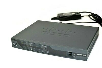 - Cisco Model 891 CISCO891-K9 V02 Gigabit Ethernet Security Router w/ Power Supply