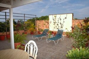 145 sq mt penthouse in great beachtown complex; Enjoy