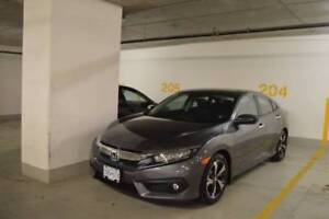2016 Honda Civic Touring Lease Takeover $3000 CASH Incentive