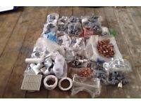 Assortment of unused Plumbing Equipment