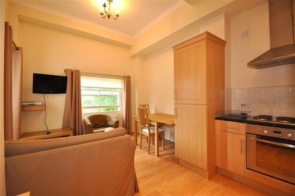 Great 1 bed flat with a roof terrace on the prestigious Kings Road