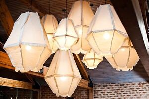 Cumulus Pendant Dove Grey 860 Bedford Bayswater Area Preview