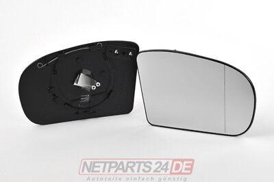 Spiegelglas rechts, Mercedes W203 2000-2008, Außenspiegel-Ersatzglas Spiegel Neu