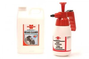 Wurth Motorcycle Brake Cleaner Large 3 Litre Bottle and Pump Dispenser