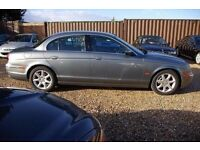 BREAKING FOR SPARES JAGUAR S-TYPE 2.7L TDV6 PLATINUM SILVER GREAT IMMACULATE CONDITION 2005-2009