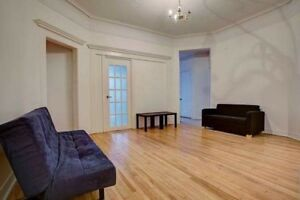 735$ // Furnished rooms in huge DT apt, in front of McGill U
