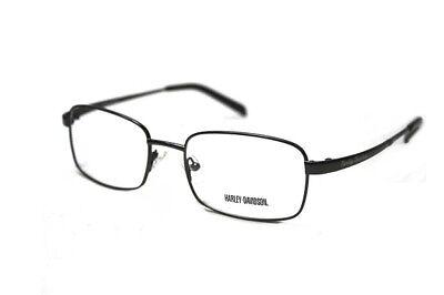 Harley Davidson Eyewear HD 749 Mens Full Rim Eyeglass Frames 54-19-145 Gunmetal