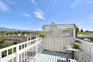 Townhouse 2bed+2bath+roofdeck w/ view (Point Grey, near UBC)