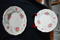 "Royal Albert China 8"" plates"