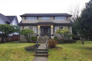 3BR Shaughnessy home, avail Sept. 1