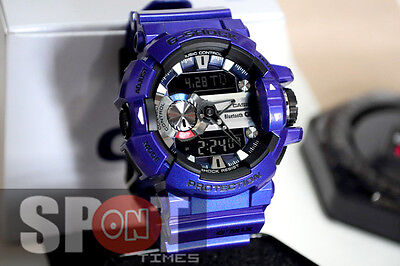 Casio G-Shock G'MIX Bluetooth Smart Men's Watch GBA-400-2A for sale  Shipping to Canada