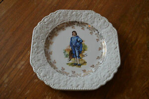 Collectible Blue Boy Plate