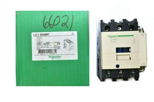 Schneider Electric LC1D50M7 Contactor TeSys 042183