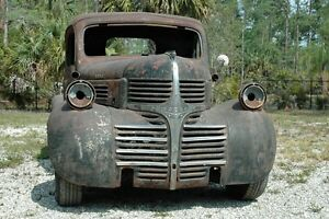 Wanted: any 39-47 Dodge parts - grille, fenders, runningboards