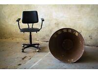 HUGE Announcement Speaker Tannoy Horn TESLA Vintage Industrial Paging System