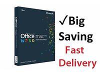 Microsoft MAC Office 2016/2011 Full Version - Mac office for MacBook Air (Download Now)
