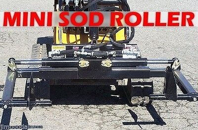 Mini Sod Rollerhandler For Mini Skid Steercompact Tool Carrierfits Toro Dingo