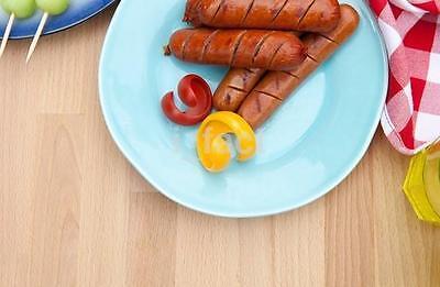2Pcs Spiral Hot Dog Cutter Slicers Fancy Sausage Cutter Slicer Kitchen Gadget CA