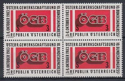 Österreich Austria 1983 ** Mi.1754 Gewerkschaft Trade Union [sr1264]