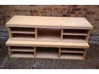 2 x Ikea long pine coloured TV/Coffee tables £15 each
