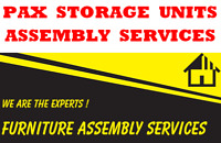 PAX  STORAGE  UNITS  ASSEMBLY  SERVICES