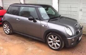 Mini Cooper 'S' R53 John Cooper Works Supercharged 200bhp Low Miles New MOT Red Leather!