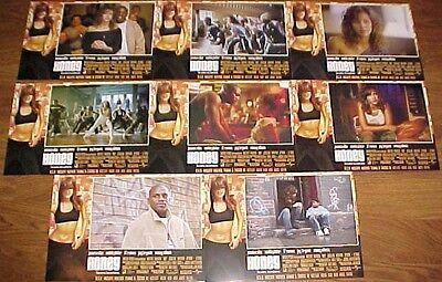 Jessica Alba Honey Spanish lobby card set 8 Mehki Phifer