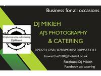 Catering & Dj & photographer