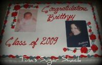 print photo on the cake