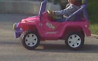 Barbie Jeep used only 5 times