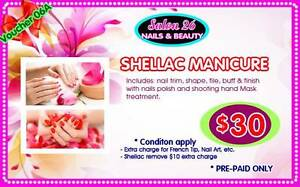 EASTER SALE - $30 ONLY for SHELLAC MANICURE Mermaid Beach Gold Coast City Preview