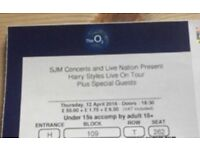 Harry styles tickets London O2