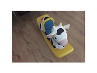 Little tikes rocking cow / seesaw
