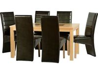 Brand new***Wexford dining sets--Table and 6 chairs --- ONLY £360