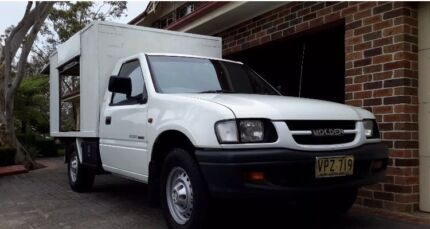 1998 LX V6 5 speed HOLDEN RODEO NO RESERVE AUCTION