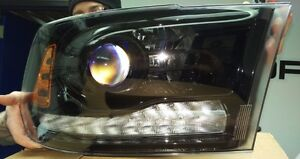 Dodge ram projector headlights