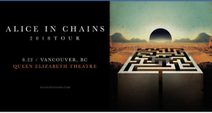 Alice in Chains - 2 Tickets