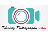 Need a photographer or videographer for your event? FilmingPhotography com