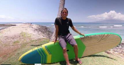 Naish Stand up paddle board 10.6 Nalu Bamboo deck 2018