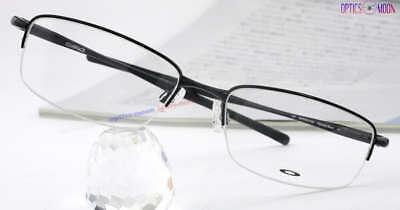 (New Eyeglass Eyewear RX Alloy Glasses Frames CLUBFACE Polished Black OX3102-0154)