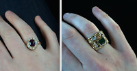 ISO 2 Gold Rings Stolen from my car on Irwin St., Nanaimo