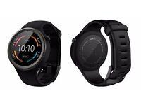 Motorola Moto 360 Sport Smartwatch Black - NEW, BOXED, and Sealed