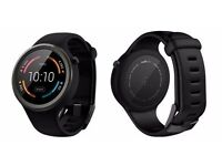 Motorola Moto 360 Sport Smartwatch Black - NEW, BOXED, and Sealed