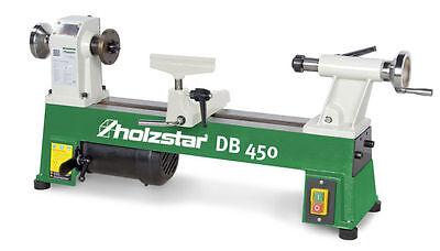 Holzstar Drechselbank DB 450 5920450 Spitzenweite 450mm Drehdurchmesser 254mm