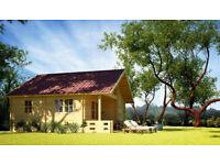 68 mm (5,8 x 5,8 m) Log Cabin / Summerhouse