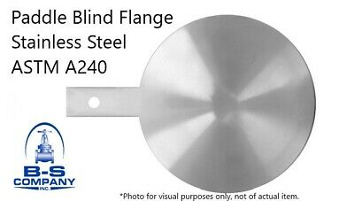Paddle Blind Flange 316l Stainless Steel 2 150 Astm A240