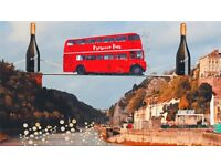 1x ticket for prosecco bus. Bristol