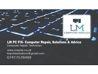LM PC FIX- Computer Repair, Solutions & Advice