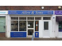 Recently refurbished Lock up shop to let in sought after Tarring Road Worthing.
